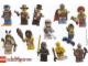 Gear No: Gstk118  Name: Sticker Sheet, Collectible Minifigures, Series 1