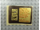 Gear No: Gstk136  Name: Sticker, Golden Bricks Promotion Golden Studs 74 - Sheet of 2