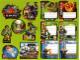 Gear No: Gstk154  Name: Sticker, Lego Club France, Sheet of 13