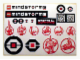Gear No: Gstk162  Name: Sticker, Mindstorms EV3 Promotional Sheet