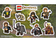 Gear No: Gstk163  Name: Sticker Sheet, The Lord of The Rings Promotional Set A