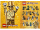Gear No: Gstk166de  Name: Sticker Sheet, Collectible Minifigures, Series 10 - Mr. Gold - German