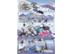 Gear No: Gstk173  Name: Sticker Sheet, Bionicle Kopaka Comic Strip, Sheet of 3