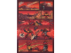 Gear No: Gstk174  Name: Sticker Sheet, Bionicle Tahu Comic Strip, Sheet of 4