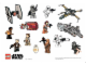 Gear No: Gstk183  Name: Sticker, Star Wars Minifigures and Space Ships, Sheet of 14