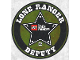 Gear No: Gstk199  Name: Sticker Sheet, The Lone Ranger Deputy Promotional