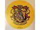 Gear No: Gstk210  Name: Sticker, Harry Potter, Hufflepuff House Crest
