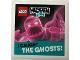 Gear No: Gstk219  Name: Sticker Sheet, Hidden Side I Caught the Ghosts! (Pink)