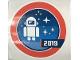 Gear No: Gstk223  Name: Sticker Sheet, Robot with Stars