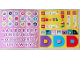 Gear No: Gstk235  Name: Sticker Sheet,  Dots Promotional - Pink Letters