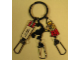 Gear No: ICKC15  Name: Imagination Center Key Chain Female Adventurer with Scorpion