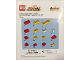 Gear No: IronMan  Name: Marvel Super Heroes Iron Man Mosaic Build Instructions