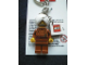 Gear No: KC034  Name: Maharaja Lallu Key Chain with 2 x 2 Square Lego Logo Tile