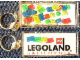 Gear No: KC042  Name: Legoland California Floating Brick Key Chain