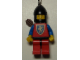 Gear No: KC053  Name: Crusader Lion Key Chain - Chin-Guard, Red Legs