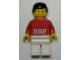 Gear No: KC119  Name: BRF Male Red Torso White Legs Key Chain