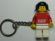 Gear No: KC120  Name: BRF Female Red Torso White Legs Key Chain
