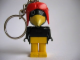 Gear No: KCF03  Name: Crow 1 Key Chain - newer metal chain, no LEGO logo on back