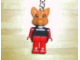 Gear No: KCF08  Name: Fox Key Chain - Twisted Metal Chain, no LEGO logo on back