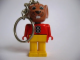 Gear No: KCF14  Name: Mouse 2 Key Chain - newer metal chain, red LEGO logo on back