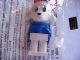 Gear No: KCF15  Name: Lamb 2 Key Chain - newer metal chain, no LEGO logo on back
