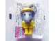 Gear No: KCF22  Name: Elephant with Yellow Legs Key Chain - Twisted Metal Chain, no LEGO logo on back