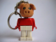 Gear No: KCF23  Name: Pig 6 Key Chain - Twisted Metal Chain, no LEGO logo on back