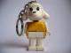 Gear No: KCF25  Name: Lamb 3 Key Chain - older metal chain, no LEGO logo on back