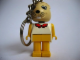 Gear No: KCF36  Name: Bunny 4 Key Chain - Twisted Metal Chain, no LEGO logo on back