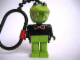 Gear No: KCF43  Name: Crocodile 2 Key Chain - plastic chain, red LEGO logo on back