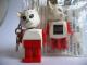 Gear No: KCF45  Name: Cat 3 Key Chain - Straight Metal Chain, black LEGO logo on back