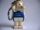 Gear No: KCF49  Name: Lamb 1 Key Chain - newer metal chain, LEGO centre / Birkenhead Point Sydney pattern on torso
