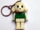 Gear No: KCF63  Name: Lamb 2 Key Chain - older metal chain, no LEGO logo on back