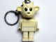 Gear No: KCF64  Name: Goat 1 Key Chain - Straight Metal Chain, no LEGO logo on back