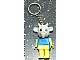 Gear No: KCF68  Name: Goat 2 Key Chain - Straight Metal Chain, no LEGO logo on back
