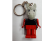 Gear No: KCF70  Name: Horse 4 Key Chain - Twisted Metal Chain
