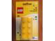 Gear No: L270UKYELLOW  Name: Pencil Sharpener, 2 x 4 Brick, Yellow