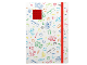 Gear No: LE51840  Name: Journal Band White with Red 4 x 4 Plate