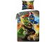 Gear No: LEG374  Name: Bedding, Duvet Cover and Pillowcase (140 x 200 cm) - Ninjago 4 Characters