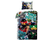 Gear No: LEG570BL  Name: Bedding, Duvet Cover and Pillowcase (140 x 200 cm) - The LEGO Ninjago Movie, Ninja Moves