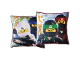 Gear No: LEG671  Name: Bedding, Pillow - The LEGO Ninjago Movie Double-Sided, Zane, Jay, Lloyd, Kai Pattern