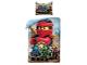 Gear No: LEG742BL  Name: Bedding, Duvet Cover and Pillowcase (140 x 200 cm) - Ninjago Kai