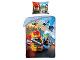 Gear No: LEG823  Name: Bedding, Duvet Cover and Pillowcase (140 x 200 cm) - Fireman - Sky Police