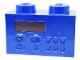 Gear No: LG11007  Name: Alarm Clock Radio - Blue