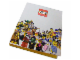 Gear No: LGO3182  Name: Binder, A4 3 Ring, Minifigures