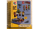 Gear No: LGO6681  Name: Notebook, The LEGO Movie Instructions, Spiral Bound