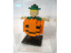 Gear No: LLCA38  Name: Miniland Figure in Pumpkin Costume, Yellow Hair (Glued)