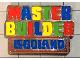Gear No: LLFmas6327  Name: Magnet Flat, Master Builder Legoland Pattern
