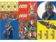 Gear No: LWCstkni  Name: Sticker Sheet, Lego World Club - Ninja Sheet