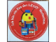 Gear No: LWSstk86de2  Name: Sticker Sheet, Ich bin ein Fan der LEGO Weltschau.
